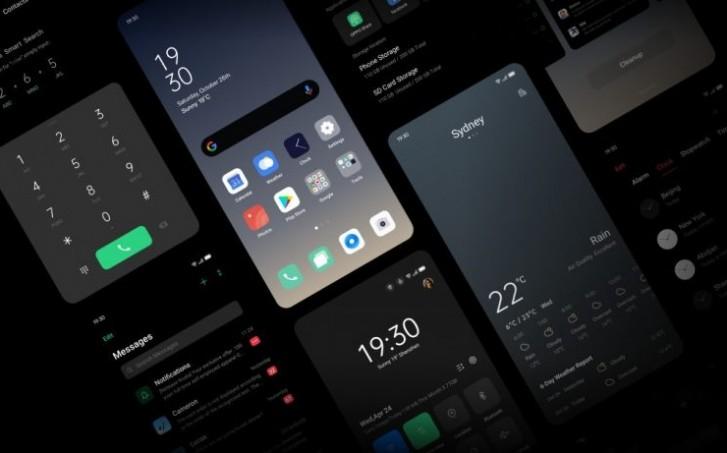 ColorOS 7 intègre le dark mode d'Android 10