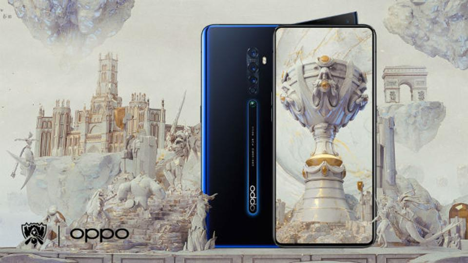 Oppo premier partenaire mondial officiel de Leagues of Legends