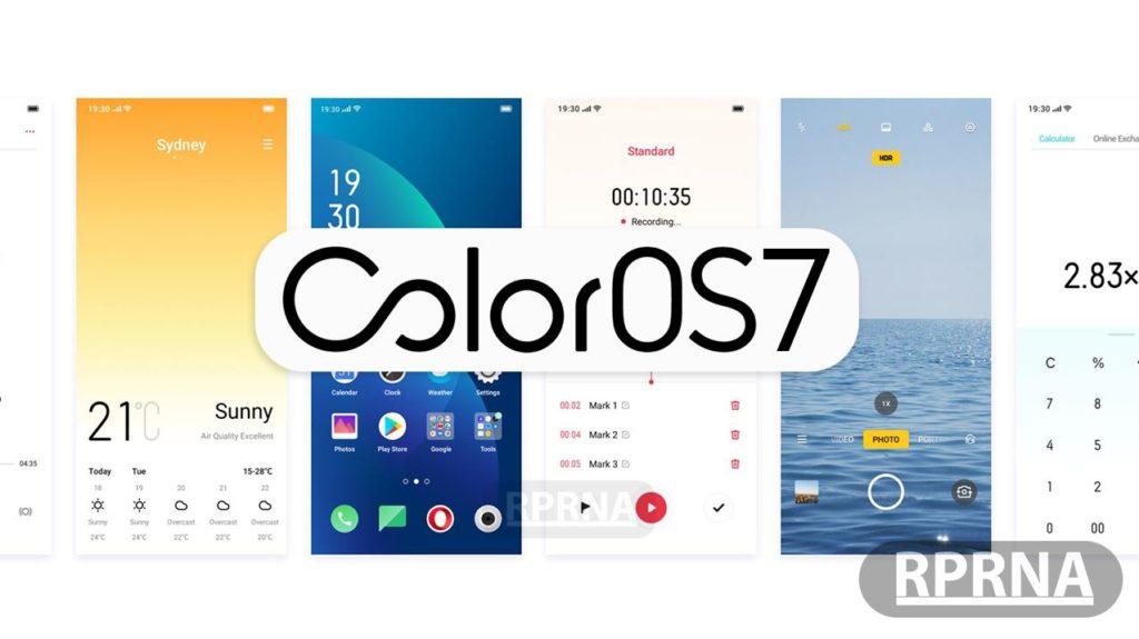 ColorOS 7 les nouvelles interfaces
