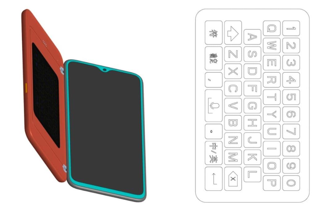 Brevet Oppo protection clavier smartphone