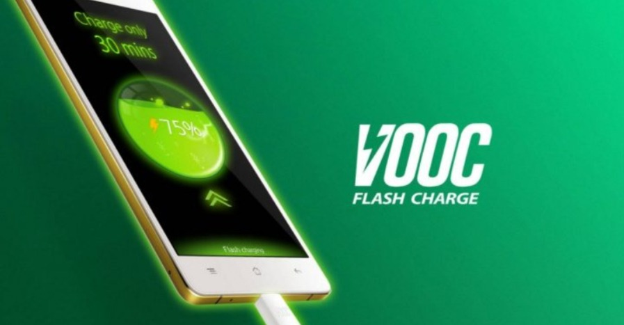 OPPO Super VOOC charge rapide