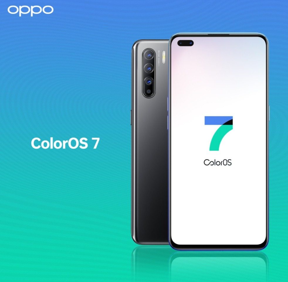 OPPO colorOs 7 interface Android