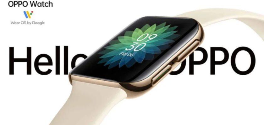 OPPO watch nouvelle montre connectée wear os google