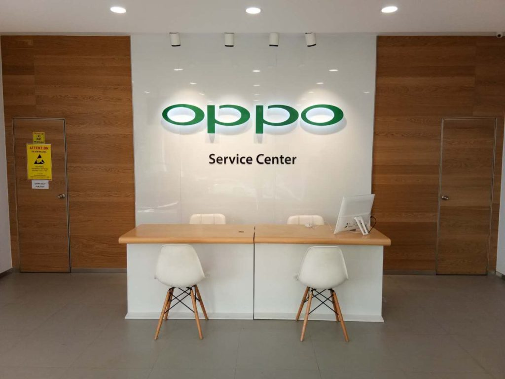 Oppo service client france