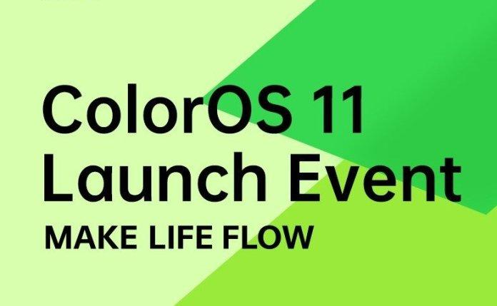 OPPO lancement colorOS 11