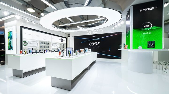 OPPO premier magasin Europe Hambourg Allemagne