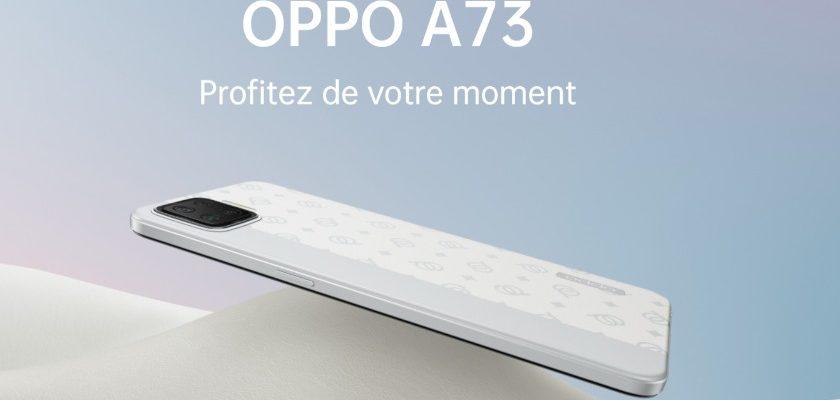 OPPO A73 smartphone