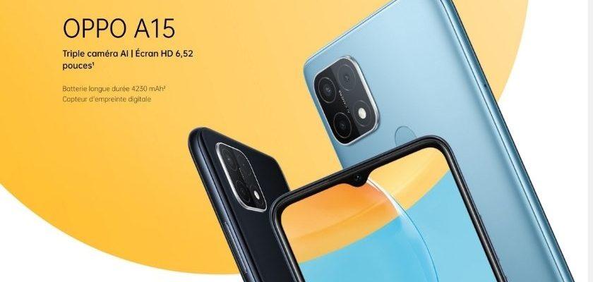 OPPO A15 avis smartphone