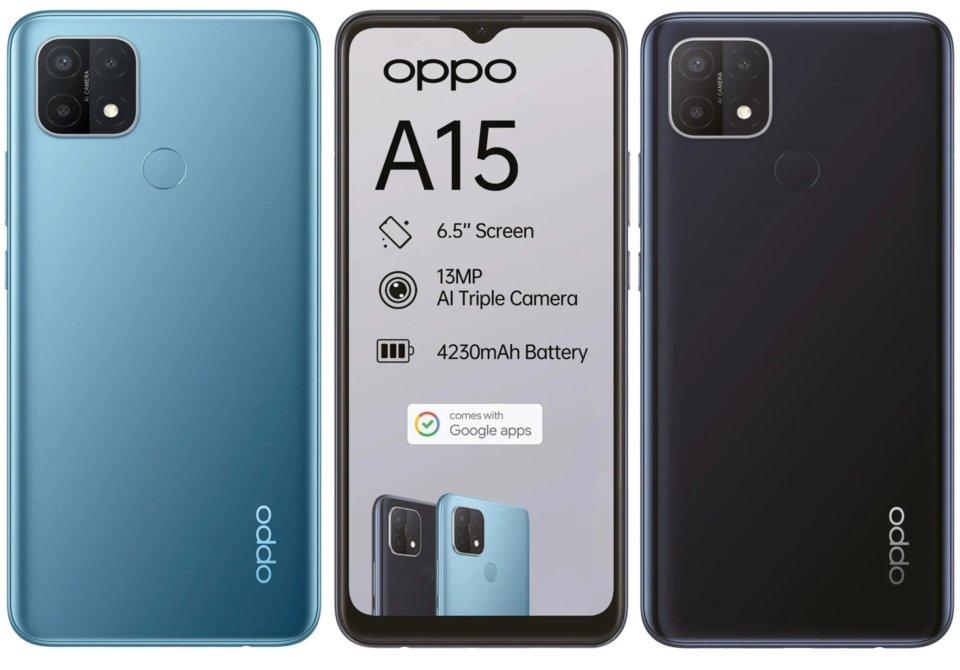 OPPO A15 prix smartphone