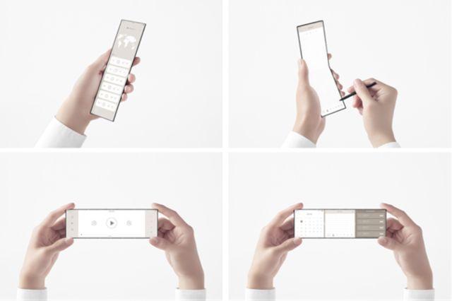 OPPO téléphone pliable concept
