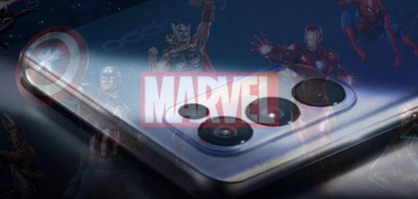 OPPO smartphone Reno5 édition limitée Marvel