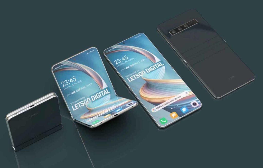 Voilà à quoi pourrait ressemble les smartphones pliables de la marque Oppo