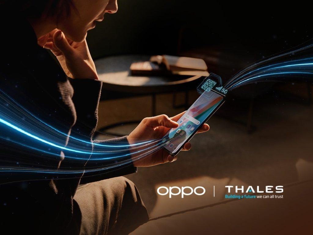 Oppo Collabore avec Thales sur ce projet